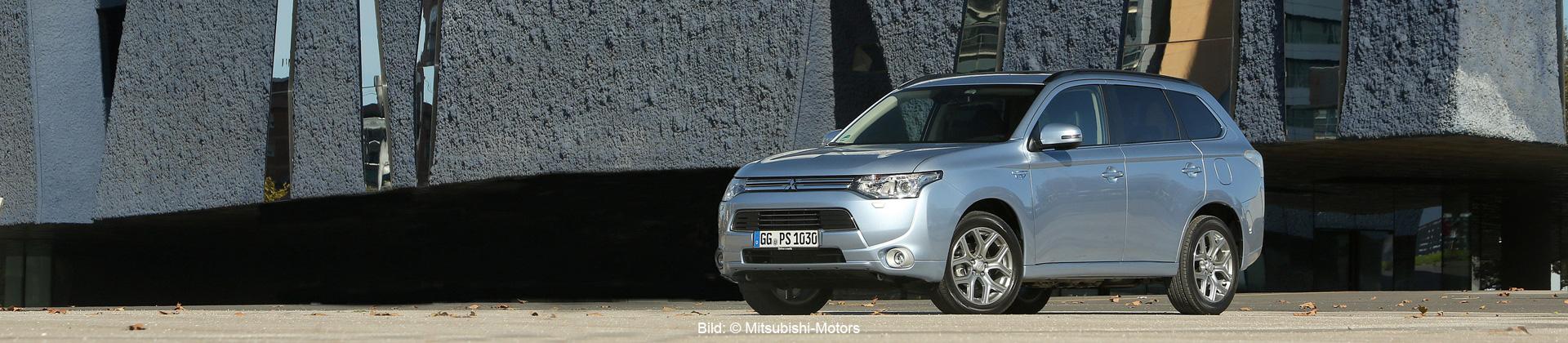Mitsubishi Outlander PHEV (Bild: © Mitsubishi-Motors)