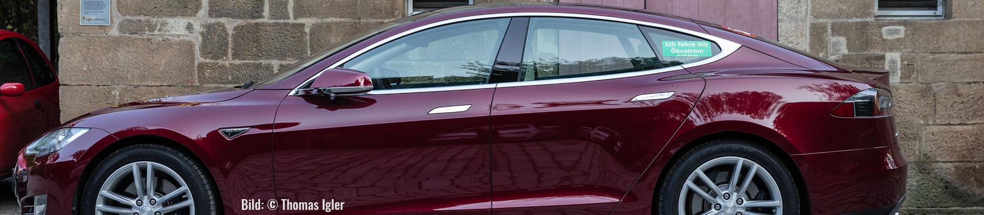 Ein Tesla Model S (Bild: © Thoams Igler)
