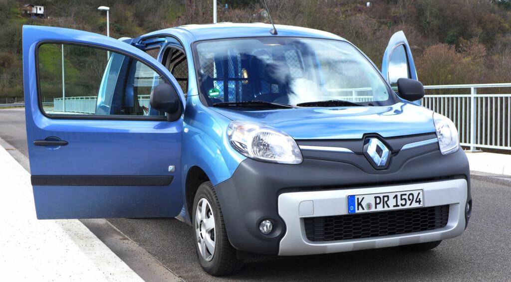 Der elektrische Transporter Renault Kangoo Z.E.