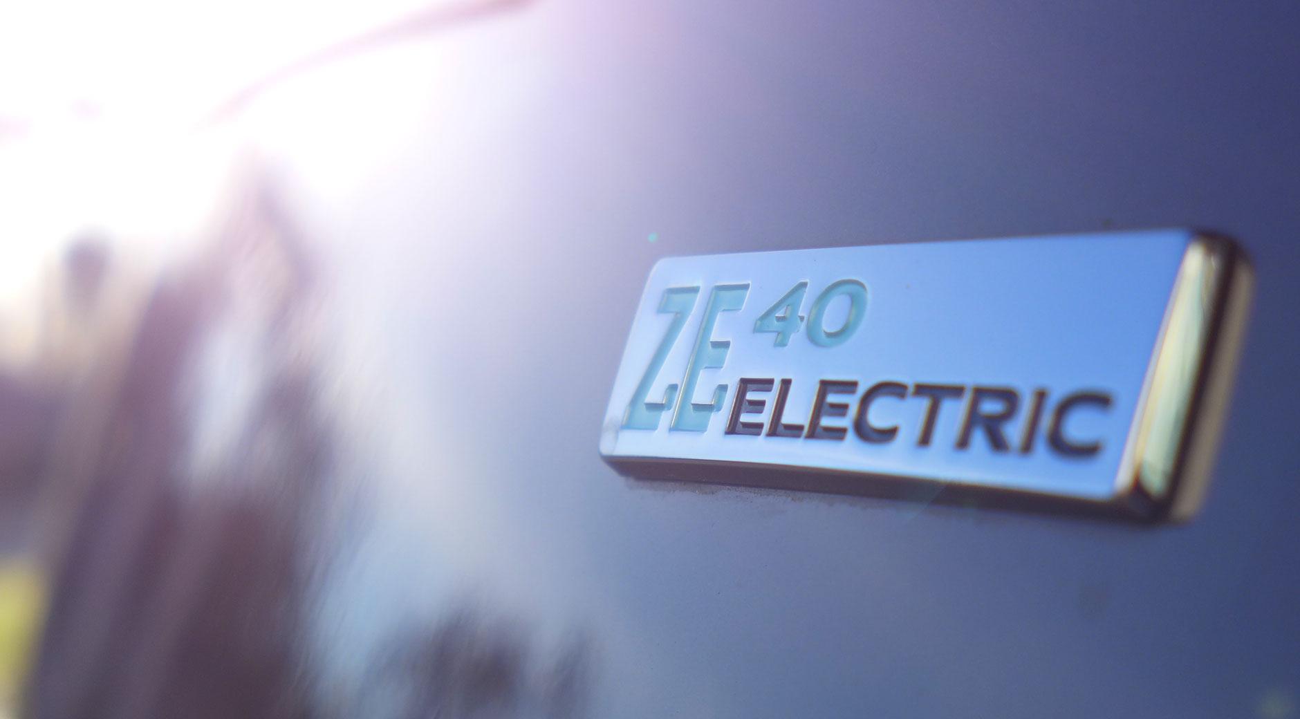 Renault ZOE mit der 41 Kilowattstunden Batterie.