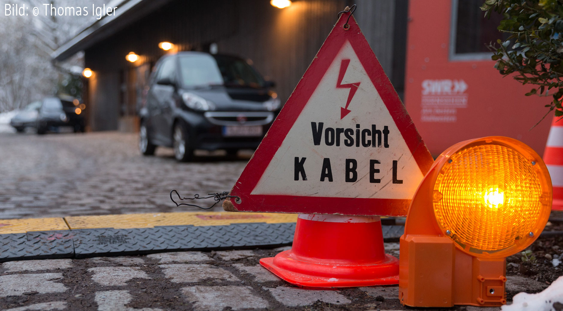 Vorsicht Kabel! Bild: © Thomas Igler