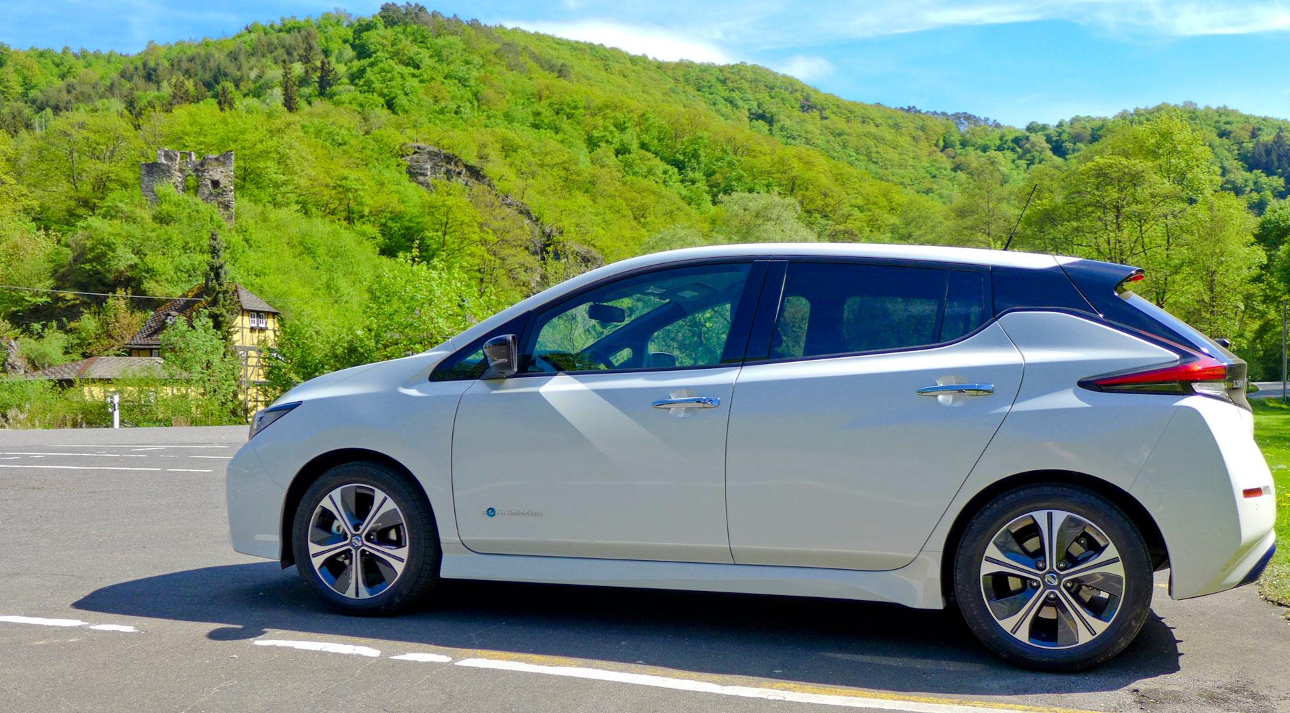 Der Nissan Leaf 2 (Bild: © Jana Höffner).