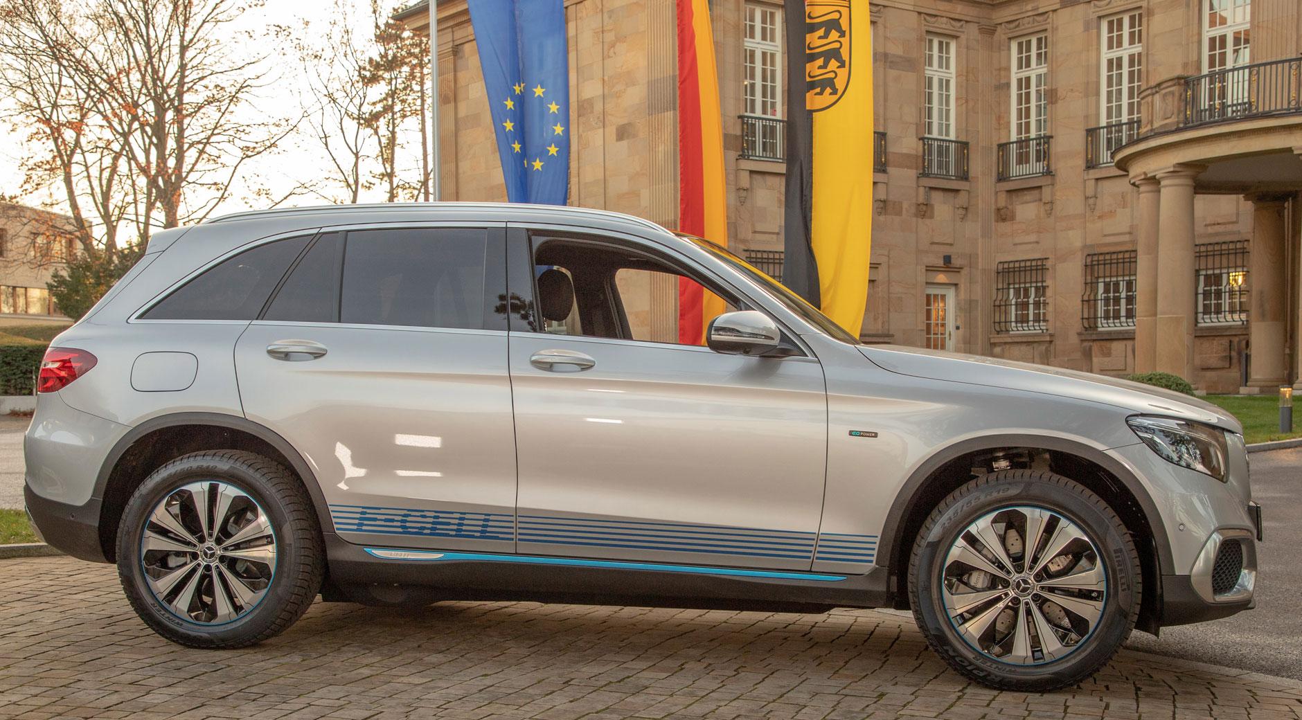 Ein Mercedes GLC Fuel Cell (Bild: Staatsministerium Baden-Württemberg).