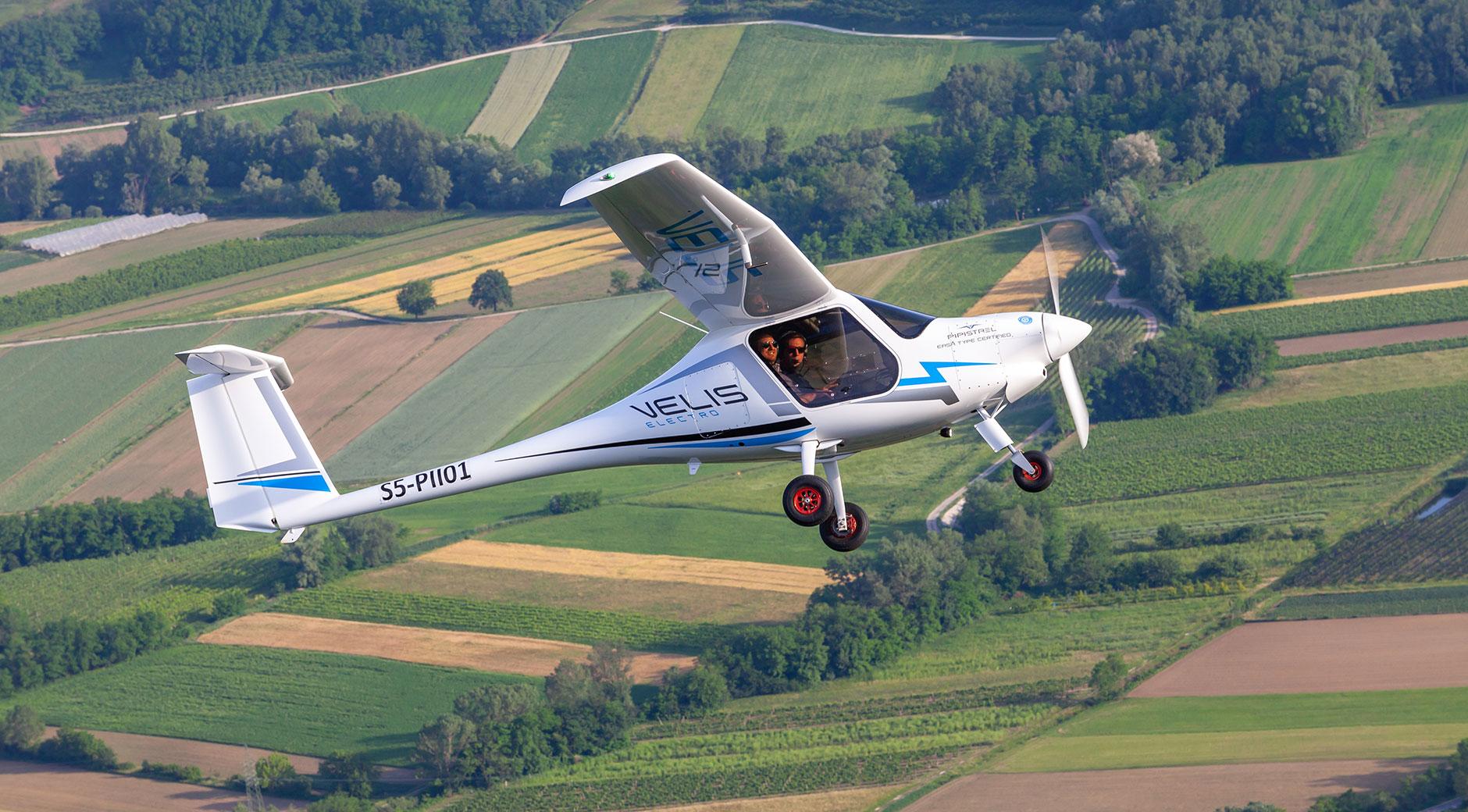 Die Pipistrel Velis für den Weltrekordversuch. Foto: © Elektro-Weltrekordflug